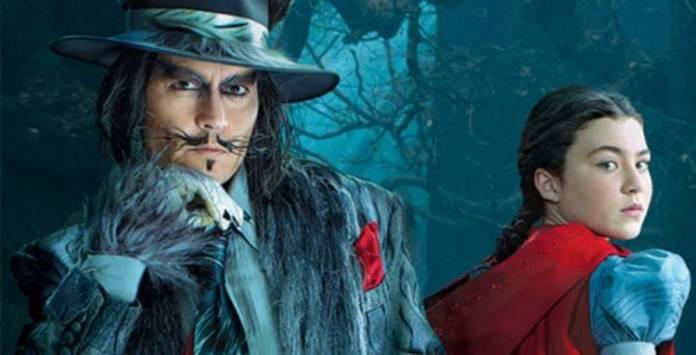 Johnny Depp tiene un breve papel en la película: el lobo de Caperucita