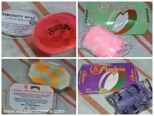 Sutla Flawless Papaya Soap Variants