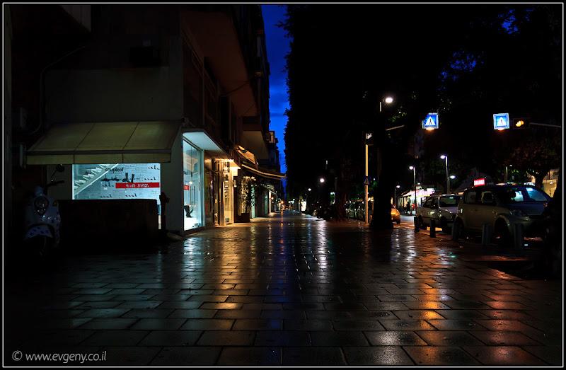 Покинутый город: Тель Авив, улица Дизенгофф