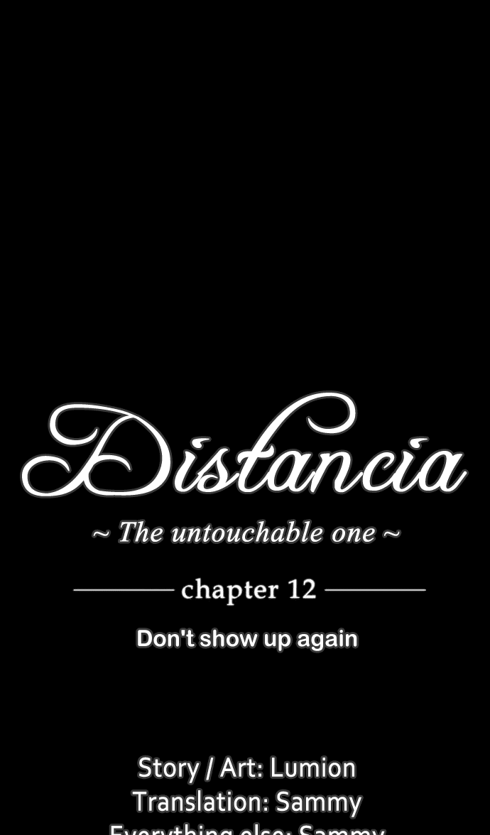Distancia ~ The Untouchable One: Chapter 12 - Page 3