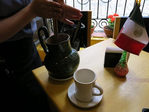Oaxaca chocolate (hot chocolate!)