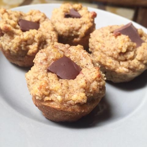 fluffiga muffins utan ägg