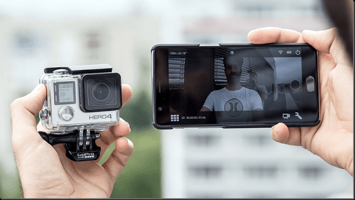 trik menggunakan kamera gopro dengan kamera android