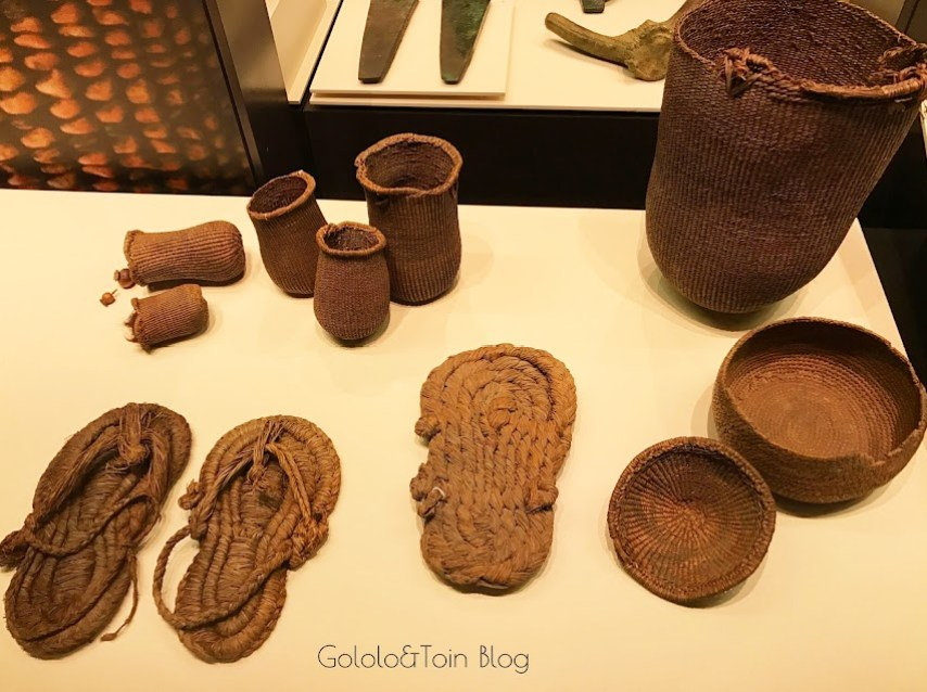 utensilios prehistoria en el museo arqueológico nacional