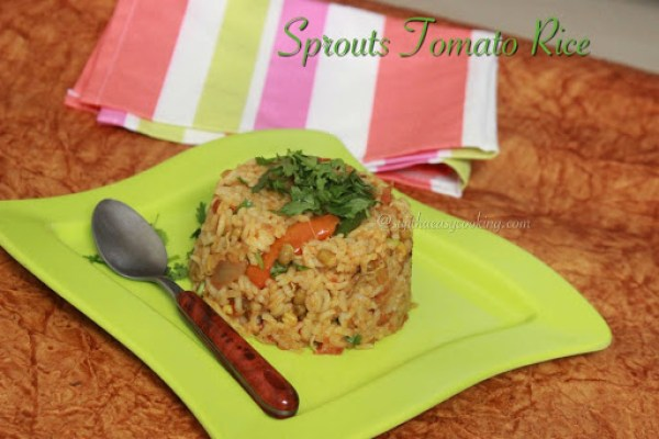 Sprouts Tomato Rice1