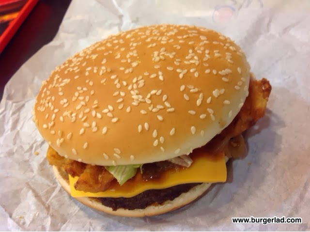 Burger King Winter Whopper with Curry Sauce