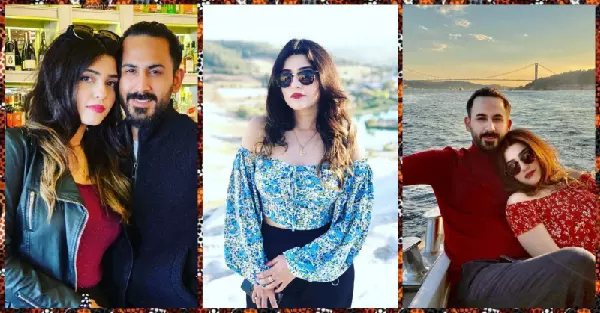 Michelle Shan beautiful pictures with her husband Shan Baig
