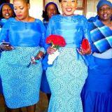 South African Rocks Shweshwe Dresses 2017