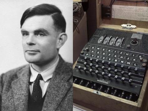 Alan Turing dan Mesin yang dibuatnya, disebut Turin Machine