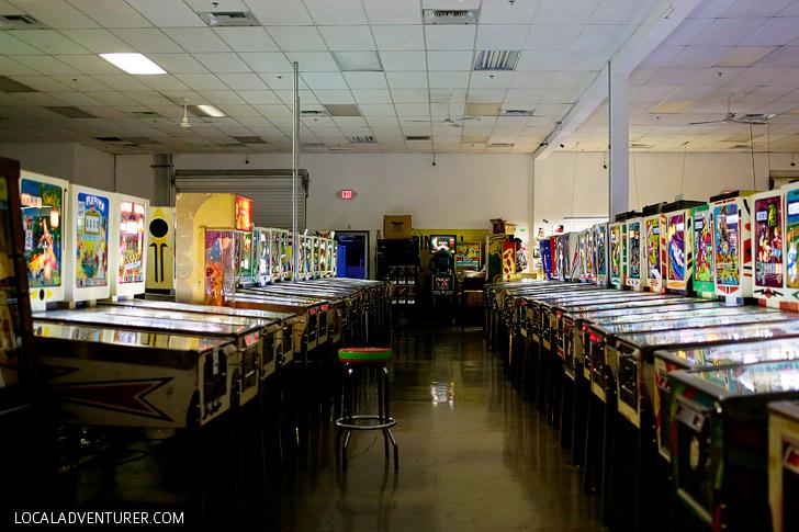 Pinball Hall of Fame Las Vegas Pinball Museum.