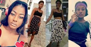 BBNaija 2018 Doulbe Wahala: Big Brother Housemate Alex flashes ni*pples on camera