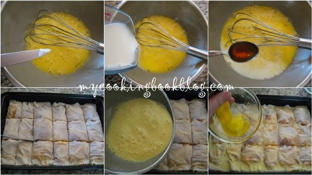 Тиквеник със заливка и лимонова глазура