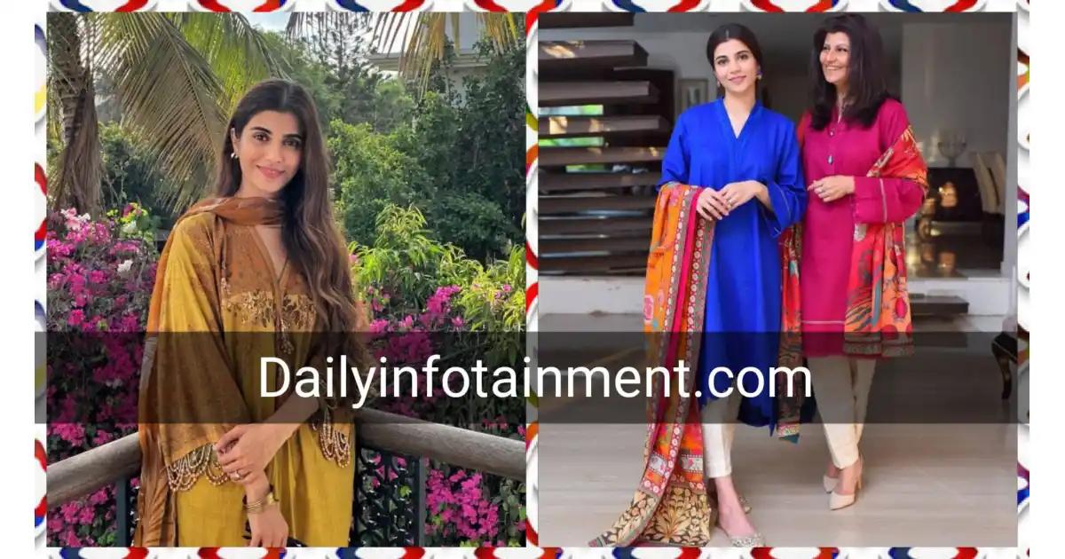 Beautiful Pictures of Rubina Ashraf with her Daughter Minna Tariq