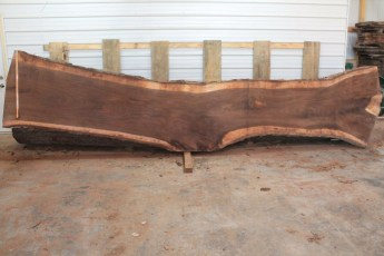 Walnut 219-3  Length 17' Max Width (inches) 47 Min Width (inches) 27 Notes 12/4 Kiln Dried