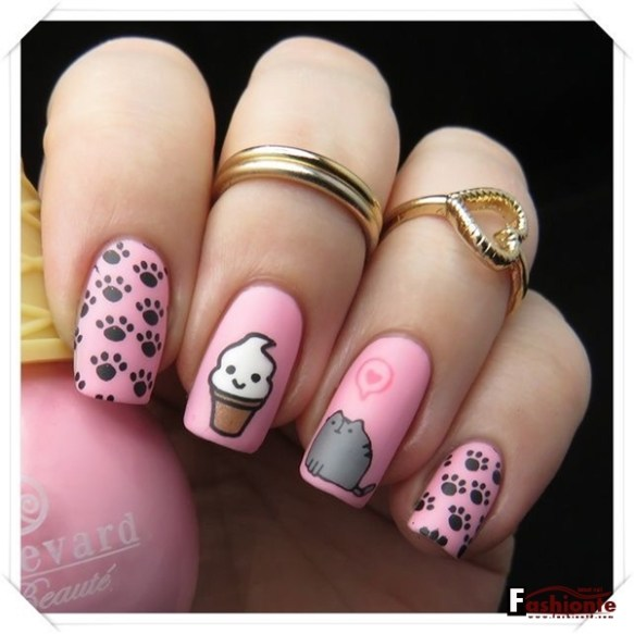 25 Summer Party Nail Art For Girls Fashionte