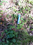 das Doserl war gefunden, einige Meter vom Cache entfernt