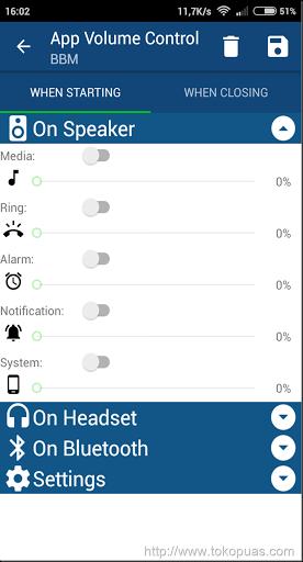 trik membuat pengaturan volume setiap smartphone android