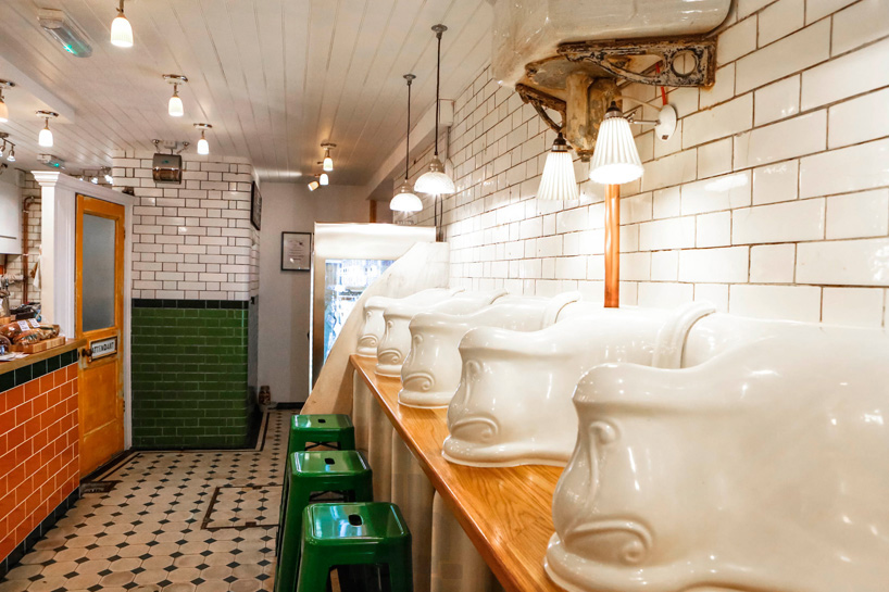 *保有60年代維多利亞風格:attendant廁所咖啡廳! 11