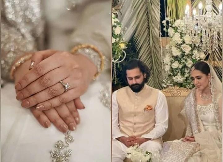 Mansha Pasha and Jibran Nasir are married Now