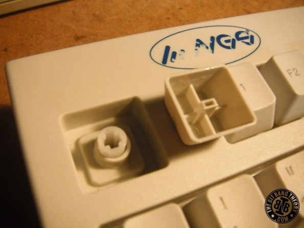 NGS keyboard ALPS compatible keycaps