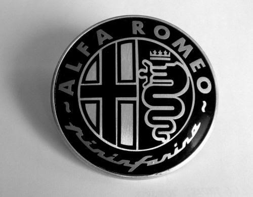 Black Pininfarina Alfa Romeo