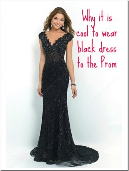 Why It is Cool To Wear Black Dress to the Prom