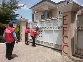 EFCC seizes George Turnah's house at 2A9 CITEC Estate, Abuja