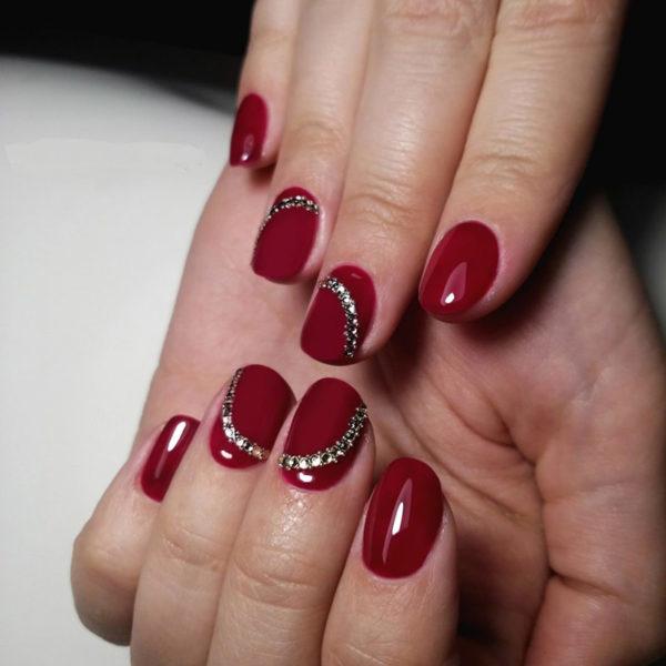 Latest Red Nail Designs Cute Nail Art Ideas Pretty 4