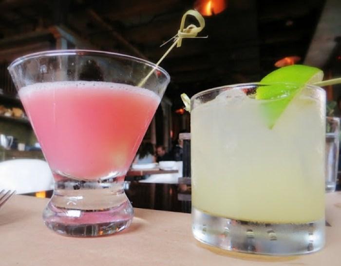 Lychee Raspberry Martini, Ginger Margarita - Spice Market New York