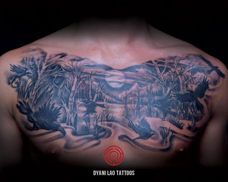 Grim Reaper - Dyani Lao Tattoos and Art