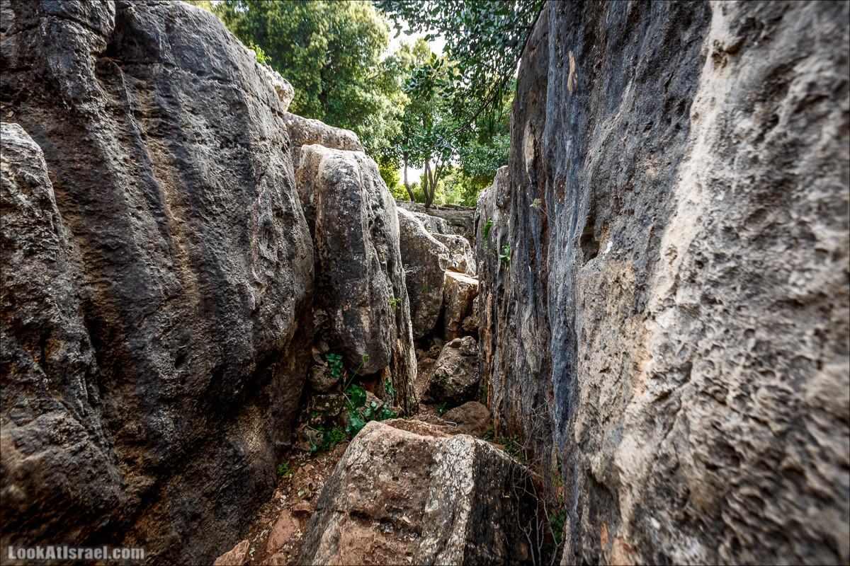 Маленький каньон в большом разломе земли