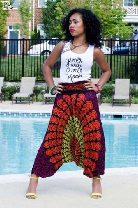African Harem Pants Styles