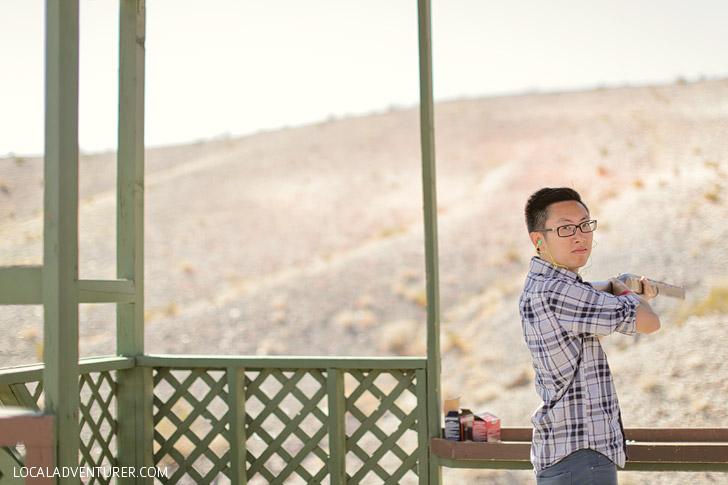 Skeet Shooting Las Vegas Gun Ranges.