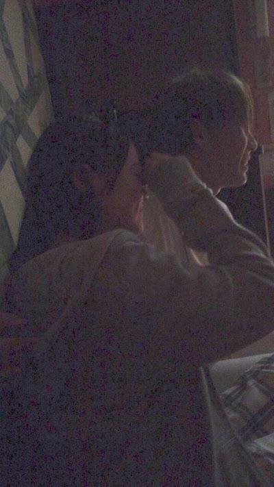 木本花音(SKE48)が松田元太(ジャニーズJr)に背中に手を回されている流出画像2