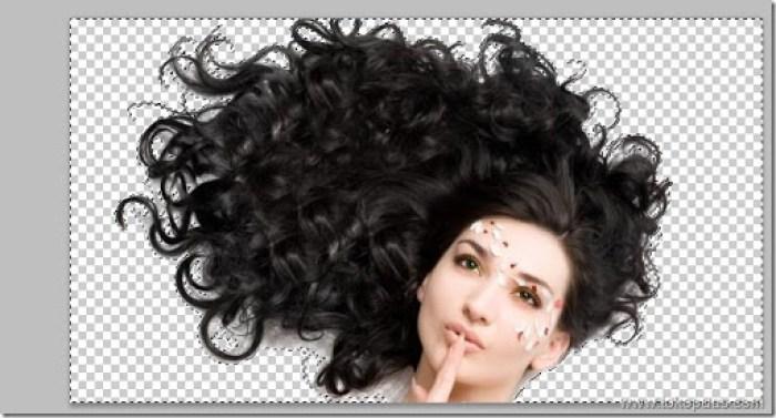 tutorial efek seleksi rambut photoshop dengan mudah