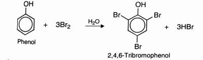 Halogenation Of Phenol, phenol Reaction , bromination of phenols , Electrophillic Substitution reactions of phenol, phenol notes, crackchemistry
