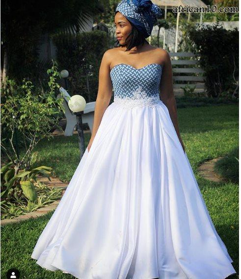 Wedding Shweshwe Dresses 2019 New Styles