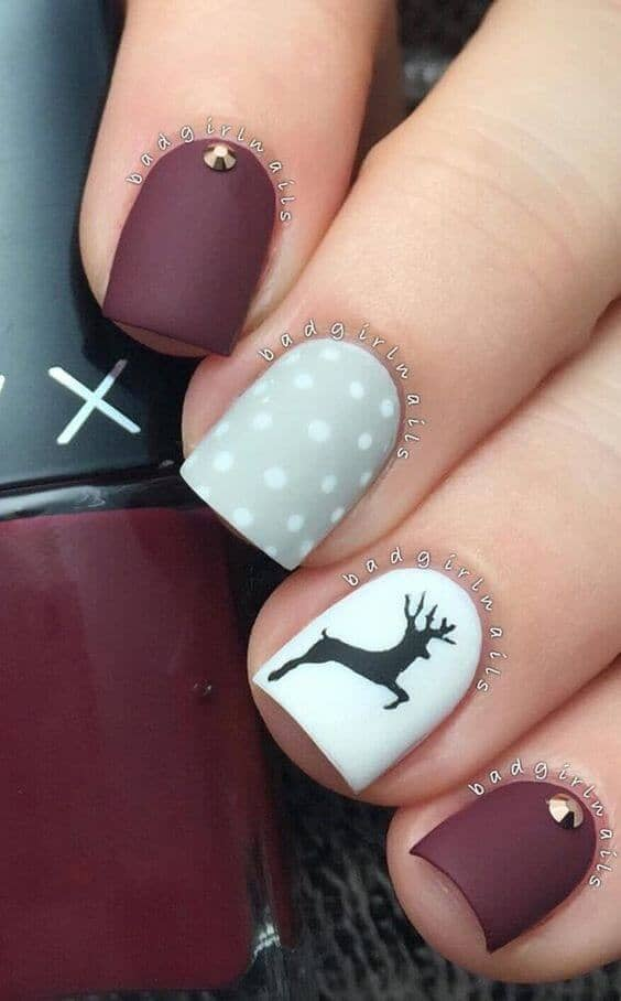 24 Christmas Nail Designs To Wear To A Holiday Party 2019 Earth Lex