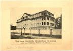 Das israelitische Krankenhaus in der Eitingonstraße, gestiftet von Chaim Eitingon, 1928 erbaut vom Architekten D. Pflaume