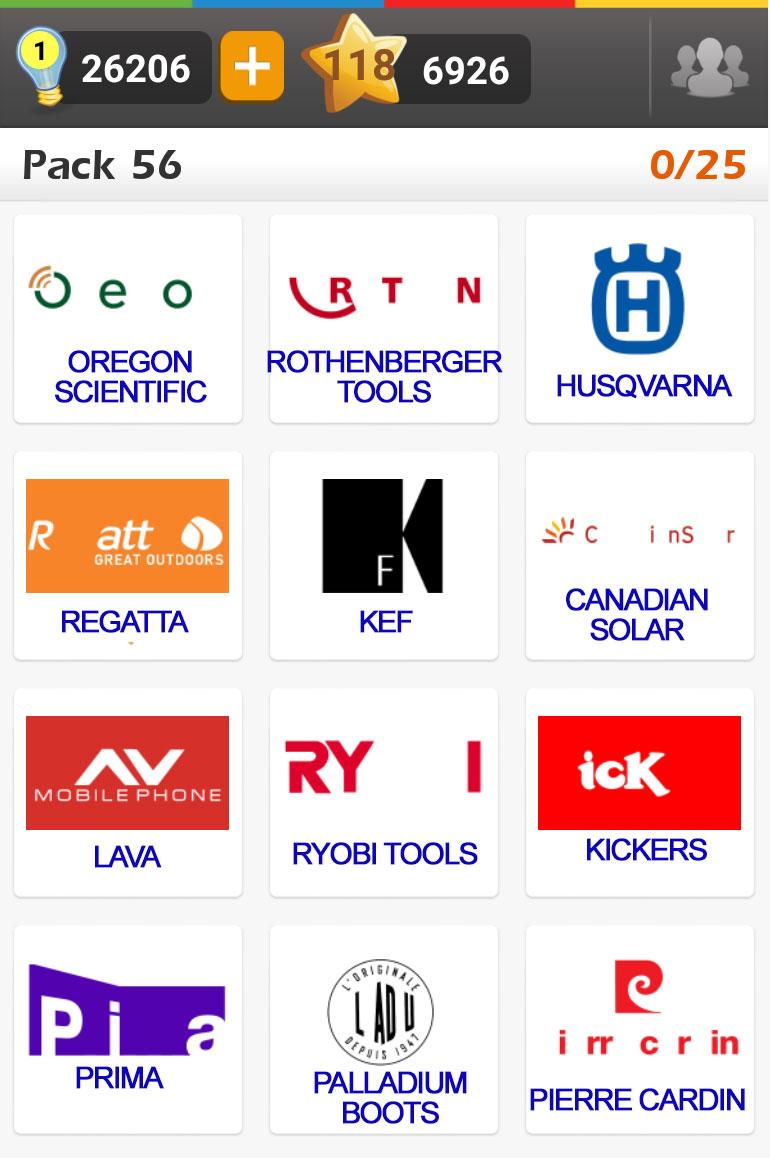 Logo game guess the brand bonus fashion doors geek - Logo Quiz Usa Brands Answers 4 Pics 1 Word Game What S