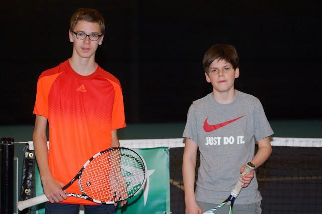Tibo Dierynck en Gilles Vandermarliere