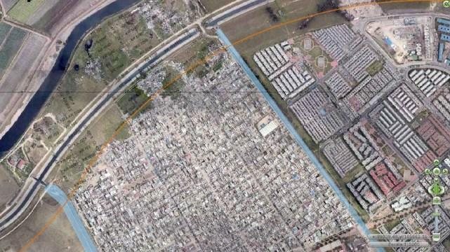 Sector Palmitas, barrio El Jazmín y Las Acacías