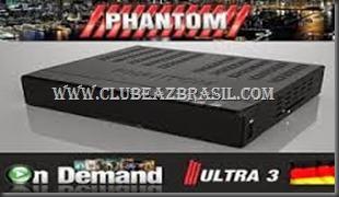 ATUALIZAÇÃO PHANTON ULTRA 3 HD V1.1.28