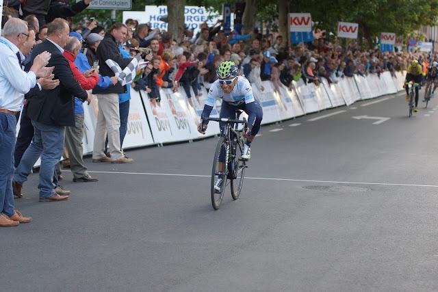Nairo Quintana wint Dovy Natourcriterium Roeselare