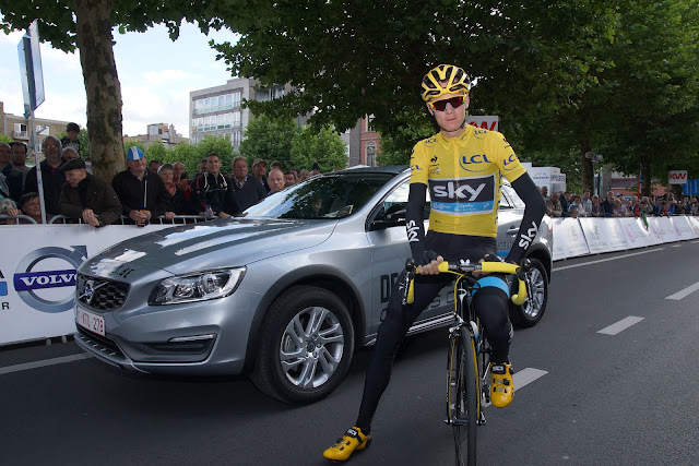 Chris Froome in Roeselare