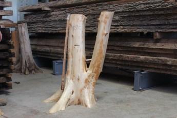 "558  White Cedar Table Base -5 35"" x 8"" Wide"