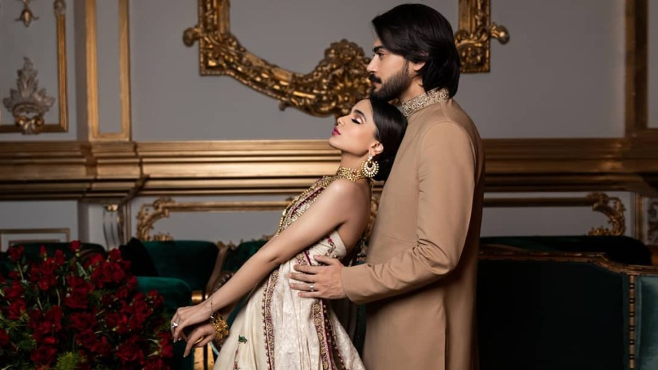 Aima Baig And Shahbaz Shigri Ethereal Wedding Photo Shoot