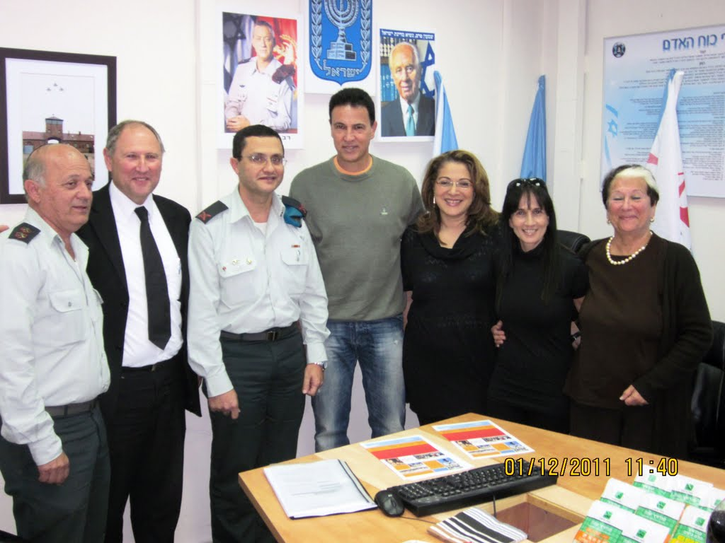 ארוע  עם קצין השלישות תאל אריה דהן 01.12.12 026