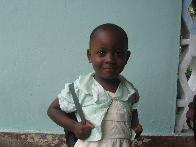Shey Blessing, Government Nursery School, Buea