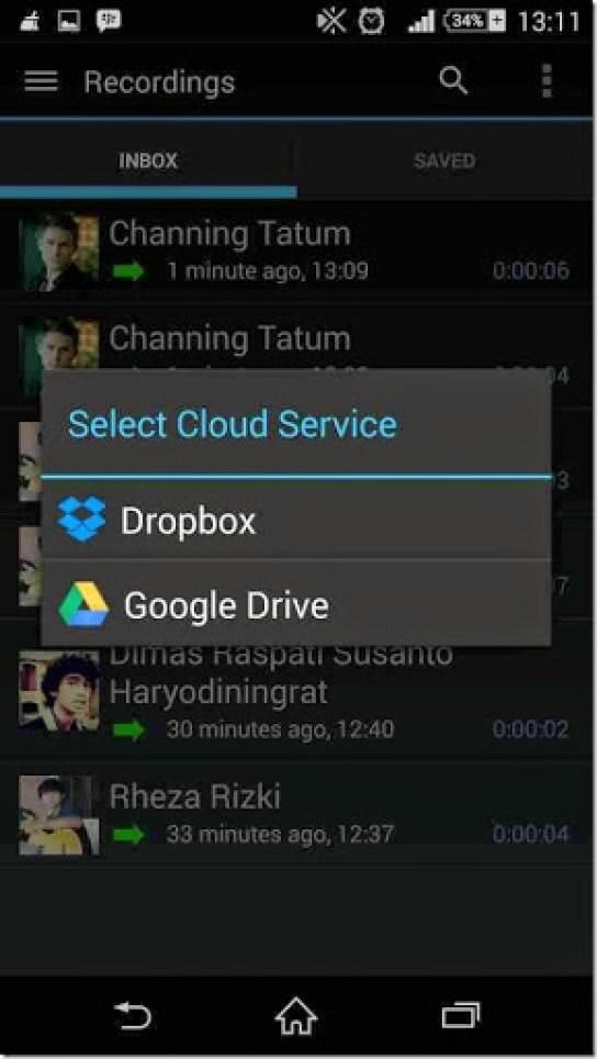 aplikasi untuk merekam hasil panggilan suara dengan cepat dan mudah